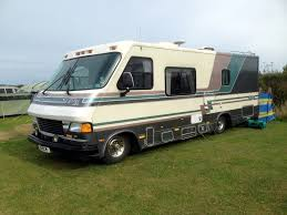 american rv motorhome camper granville lextra retro 1991 fixed end