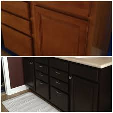 furniture makeover wooden bathroom cabinet using general finishes