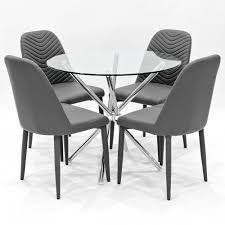 Glass Dining Table And Chairs Dining Sets Dining Table And Chairs Dining Table Sets Dining