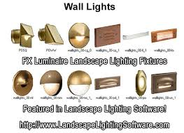 Luminaire Landscape Lighting Fx Luminaire Wall Lights Featured In Landscape Lighting Design