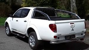 mitsubishi pickup 2013 white mitsubishi l200 warrior 2 5 di d 175 bhp long bed with