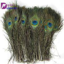 Peacock Feather Centerpieces by Peacock Feather Wholesale 500pcs Natural Long 10 12