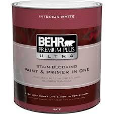 behr premium plus ultra 1 qt ultra pure white flat matte interior