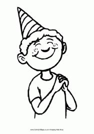 birthday boy colouring birthday birthday boys