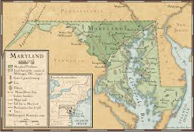 map of maryland farming and mining in maryland in 1775 national geographic society