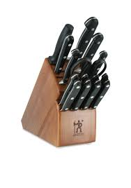 kitchen knives block set j a henckels international 16 piece classic knife block set belk