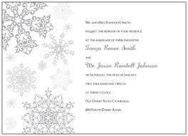 Snowflake Wedding Invitations Printable Wedding Invitations Orionjurinform Com