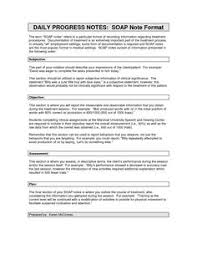 Writing Counselling Session Notes Best Soap Note Template Fnp Soap Note