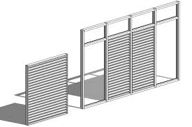 Curtain Wall Mullion Revit Tutorial Curtain Wall Louver Revit Oped Therevitkid Com