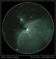 messier 42 43 the orion nebula deep sky watch