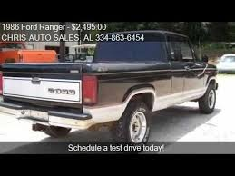 ford ranger 4x4 5 speed for sale 1986 ford ranger stx 2dr 4wd extended cab sb for sale in roa