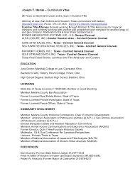 Landman Resume Example by Resume For Joseph F Manak