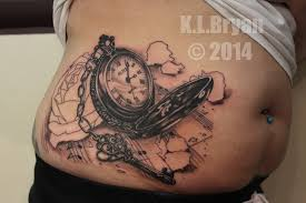 pocket watch and rose tattoo sitting one by danktat on deviantart