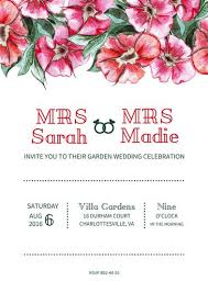 wedding template invitation customize 1 197 wedding invitation templates online canva