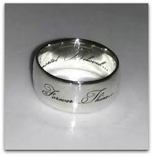 silver name rings sterling silver name ring honeybunch
