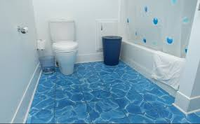 bathroom flooring options ideas recycled water blue tile bathroom floor options bathroom