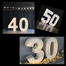 marquee numbers with lights marquee numbers festive lights lights for all occasions