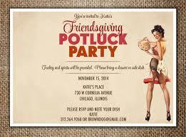 thanksgiving invitations ideas friendsgiving invitations