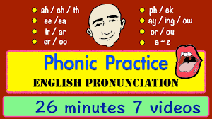 phonic sounds pronunciation long video english speaking