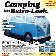 volkswagen van hippie blue t1 vw camper van blue exact scale replica tent gadgets gifts
