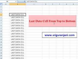 last cell method