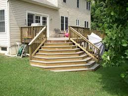 wedding cake steps carterworx llc exterior remodeling decks