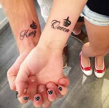 250 cool matching tattoos for couples april 2018