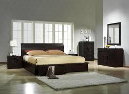 bedroom nightstand furniture rounded black veneered plywood