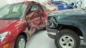 wrecked car side collision wikipedia