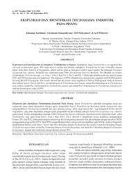Sho Jamur morphological characteristics of four pdf available