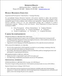 sample hr executive resume 7 examples in word pdf