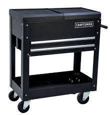 craftsman table top tool box craftsman 31 2 drawer mechanic tool cart