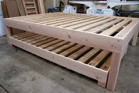 Build Platform Bed Marvelous Bed Amazing How To Make A Frame Build Platform