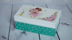 Decoupage Box Ideas - decoupage tutorial shoe box diy by catherine