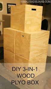 112 best garage gym images on pinterest garage gym health build your own 3 in 1 wood plyo box for under 40 www