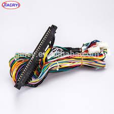 arcade game machine wire harness color codes jamma pcb board