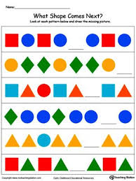 best 25 shape patterns ideas on pinterest shapes activities for