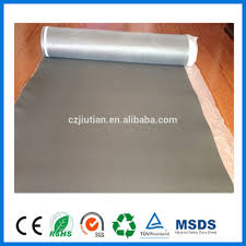 Foam Underlayment For Laminate Flooring Cheap Water Proof Membrane Eva Foam Underlay With Gold Foil View