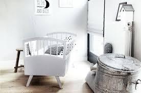 chambre bebe blanc une chambre bébé en noir et blanc