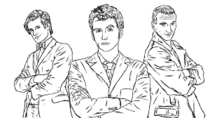 doctor who coloring pages 4365
