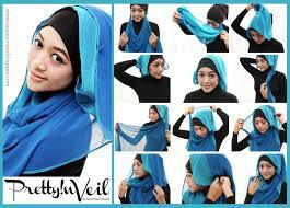 tutorial hijab pesta 2 kerudung tutorial gambar jsahijabstore