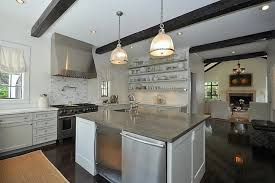 gourmet kitchen island gourmet kitchen features white cabinets with calcutta marble