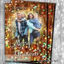 photo christmas card rustic christmas card unique christmas card