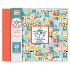 12x12 scrapbook albums new edition 12x12 sail away scrapbook album products we