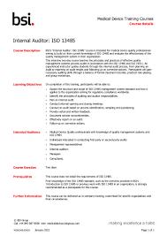 Internal Auditor Resume Sample by Internal Auditor Iso13485