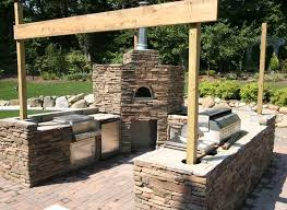 160 best flagstone patio pizza oven images on pinterest home
