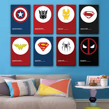 aliexpress com buy hd oil painting superman logo decoration