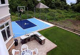 Sports Courts For Backyards Sports Courts Athletic Courts Residential Sports Courts