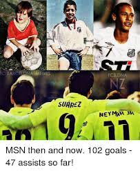 Neymar Memes - fc barcelona memes suarez fcb dna neymar jr msn then and now 102