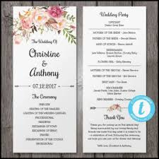 wording for wedding programs invitations wedding programs wording templates wedding program